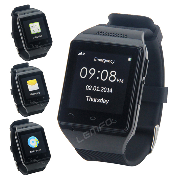 "S18 Smart Watch Phone 1.54"" Capacitive Touch Screen Bluetooth GSM SmartWatch Mobile Phone MP3 FM Radio 2014 Fashion 2014 New(China (Mainland))"