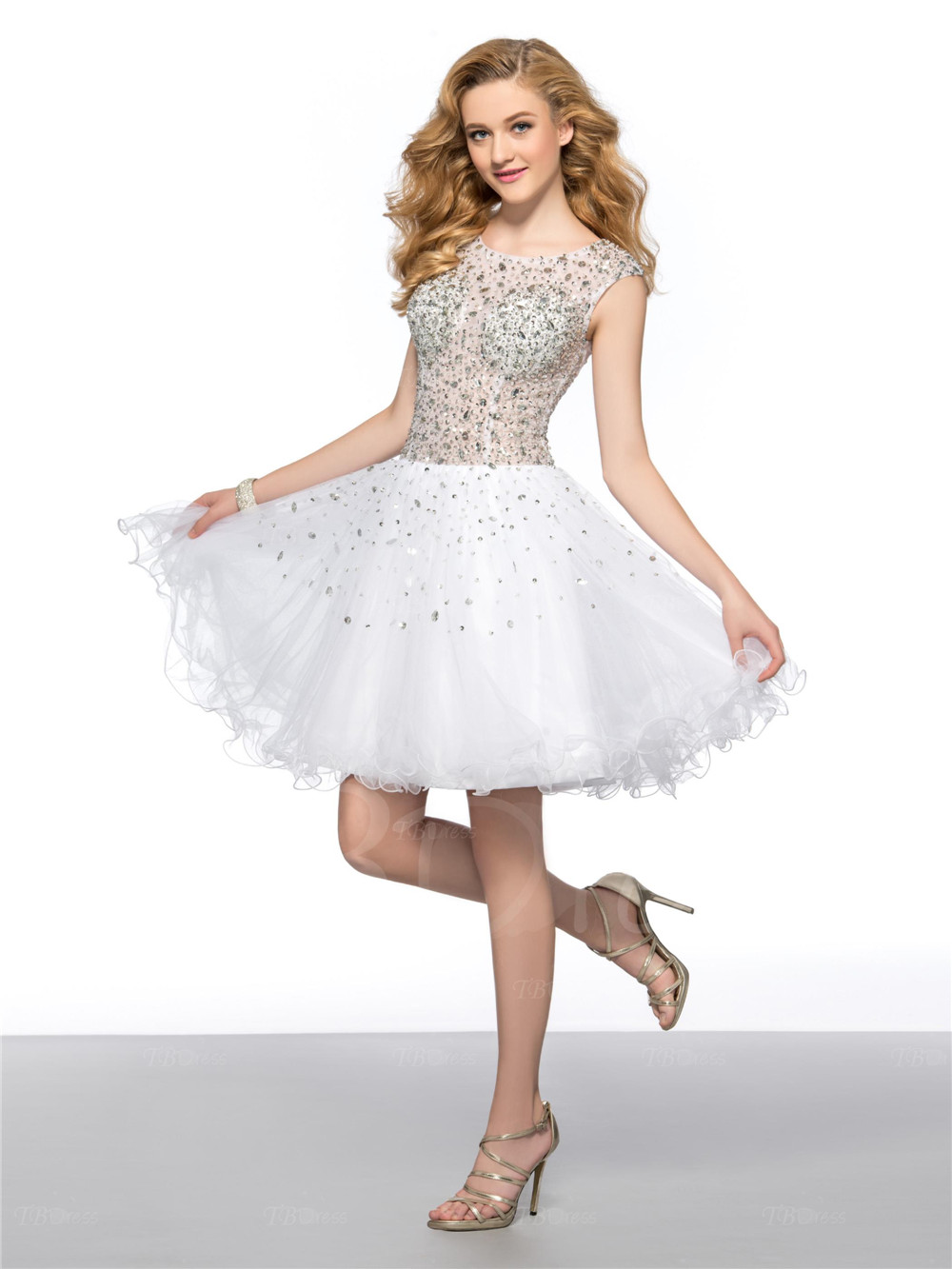 Junior Prom Dresses In White - Homecoming Prom Dresses