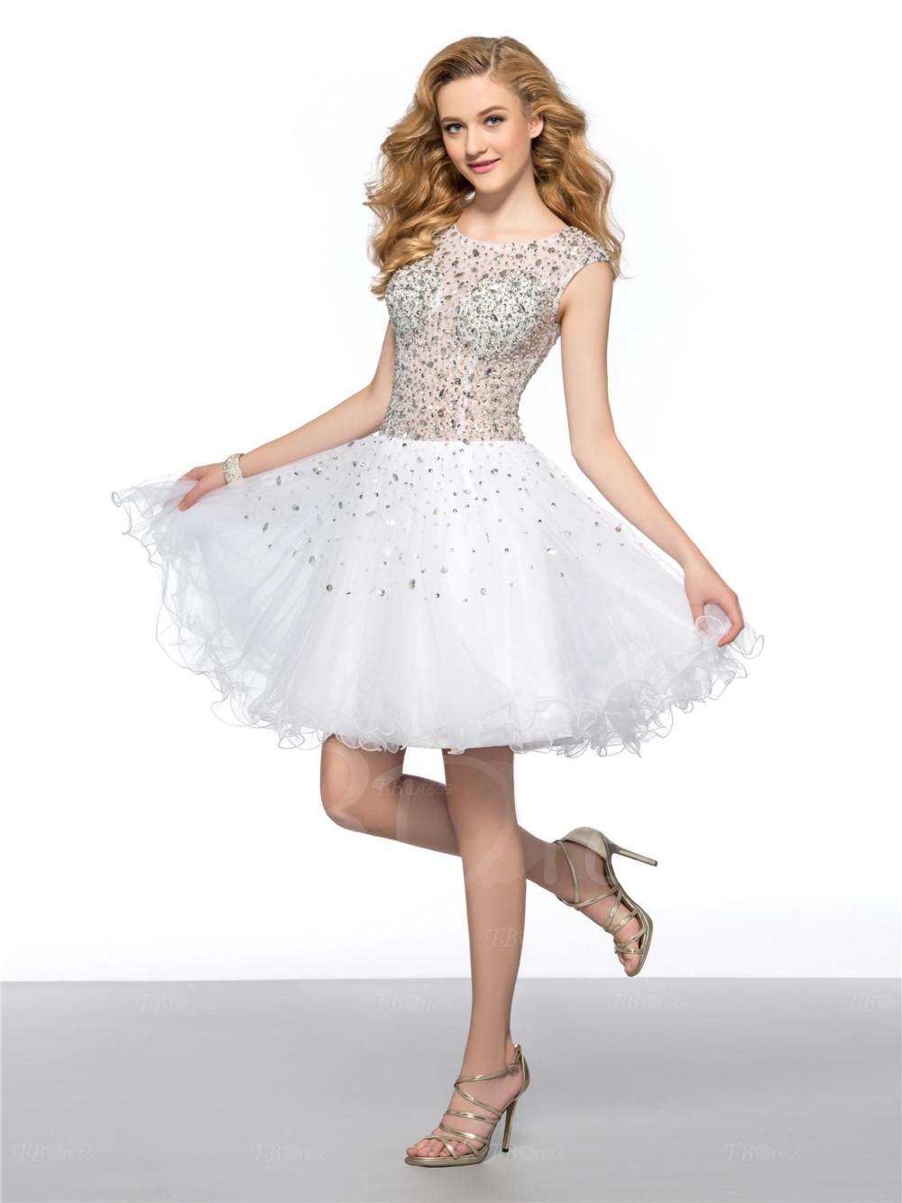 Cheap White Cocktail Dresses