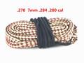 <font><b>Hunting</b></font> Bore Snake rifle Cleaning 22 Cal 223 5.56mm Calibre Boresnake Rope Rifle Barrel Kit Caza