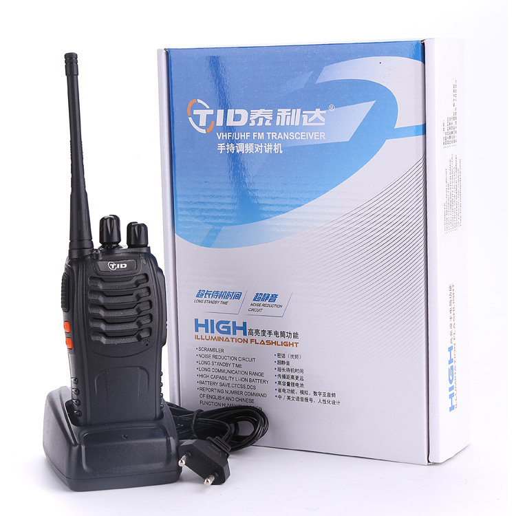 TID TD-V2 Walkie Talkie  Long Distance Protable Radio 3Km Two Way Radio