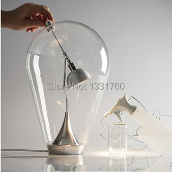 small size Blow Table Lamp modern magnet glass tbble lamp designed by Design by Pio and Tito Toso