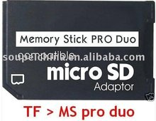 Buy Micro SD TF Memory Stick MS Pro Duo Adapter converter PSP Support 4GB 8GB 16GB 32GB 64GB Class10 note: onlyl adapter for $67.50 in AliExpress store