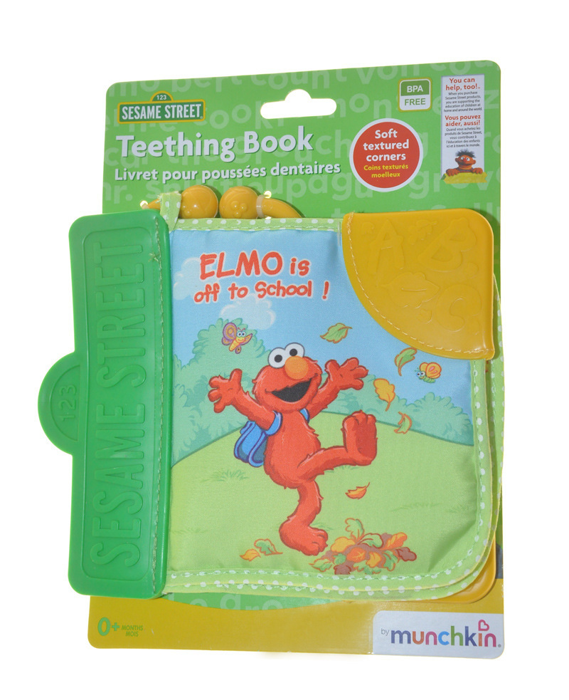Sesame street teeching book Alphanumeric baby early education baby kid cloth books wholesale(China (Mainland))