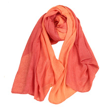 Korean Style Cotton Spring Scarf Women Shawls and Scarves for Women Fashion Solid Color Casual Neck Warmer Wrap Long Pashmina(China (Mainland))