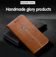 Metal LOGO Popular fashion style flip leather Mobile phone back cover ufor nokia C7 casecase flip leather wallet cases(China (Mainland))