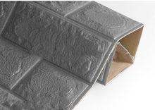 3D настенные наклейки имитация кирпича Декор для спальни водонепроницаемые самоклеящиеся обои для гостиной кухни ТВ фон Декор(China)