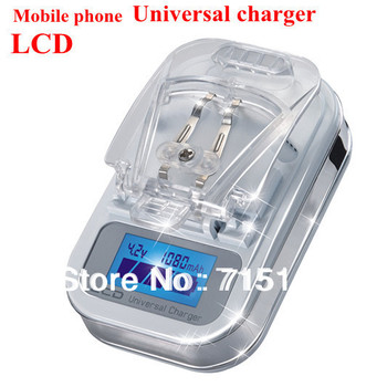 Intelligent LCD Universal Battery Charger For Mobile Phone Lithium Batteries