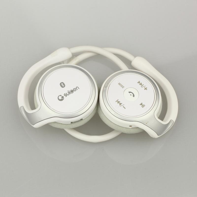Sports Bluetooth Headphones Suicen AX-698 Support 8G TF Card FM Radio Portable Neckband Wireless Earphones Headset Auriculars
