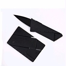 Credit card knife folding knife stainless steel blade Wallet knives survival camping tool tactical mini hand tools pocket knife(China (Mainland))