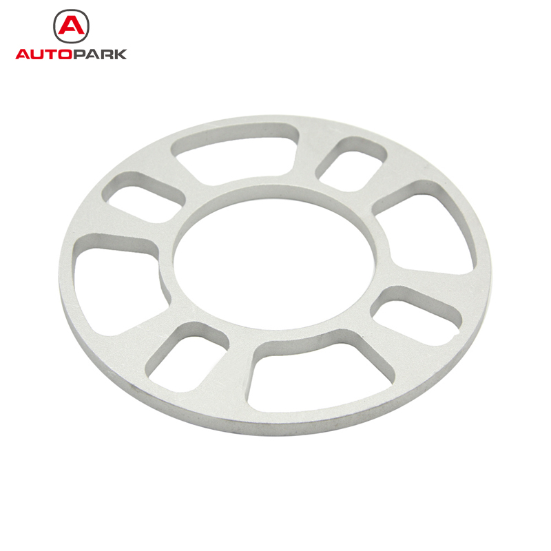 Professional Wheel Spacer Adapter 4 Hole 8mm Aluminum Wheel Fit 4 Lug 4x101.6 4x108 4x112 4x114.3 Universal Car Parts(China (Mainland))