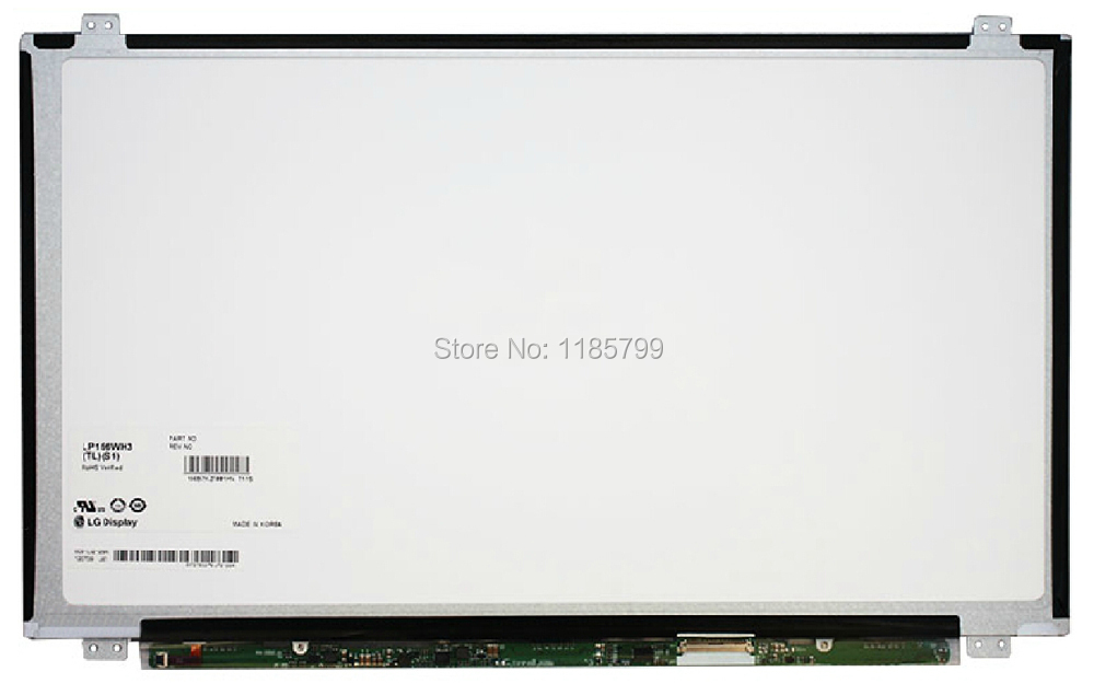 "100% New 15.6"" Laptop LCD Screen LP156WH3 TLL1 TLM1 TLS3 TLL3 TLS1 TLT1 TLAA TLBC TLE1 ultrathin slim LED LVDS 1366x768(China (Mainland))"