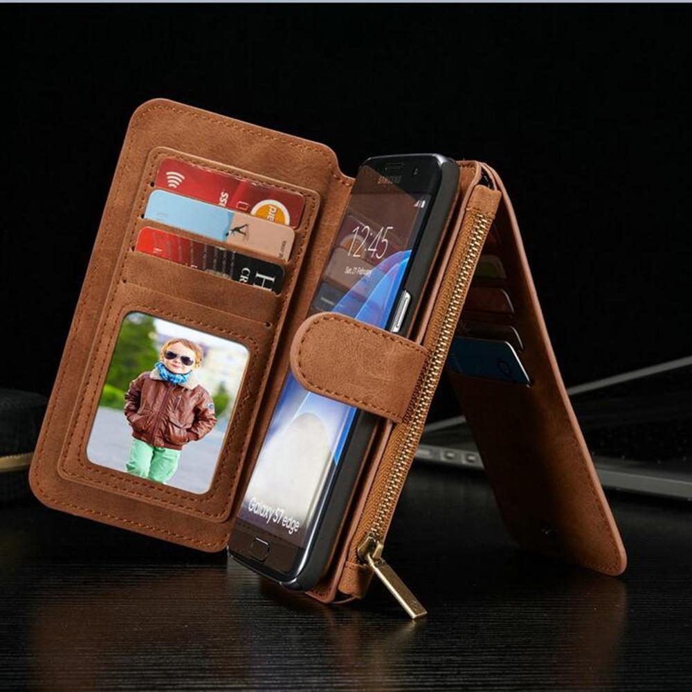 KISSCASE Vertical Flip Card Holder Cell Phone Case For ...