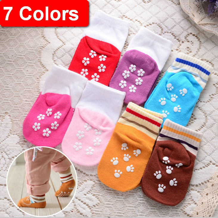 2014 New Cotton Warm Newborn Soft Socks&Leg Warmers Baby&kids Non-slip Floor  Socks For Girls&Boys Toddler Socks Children S115