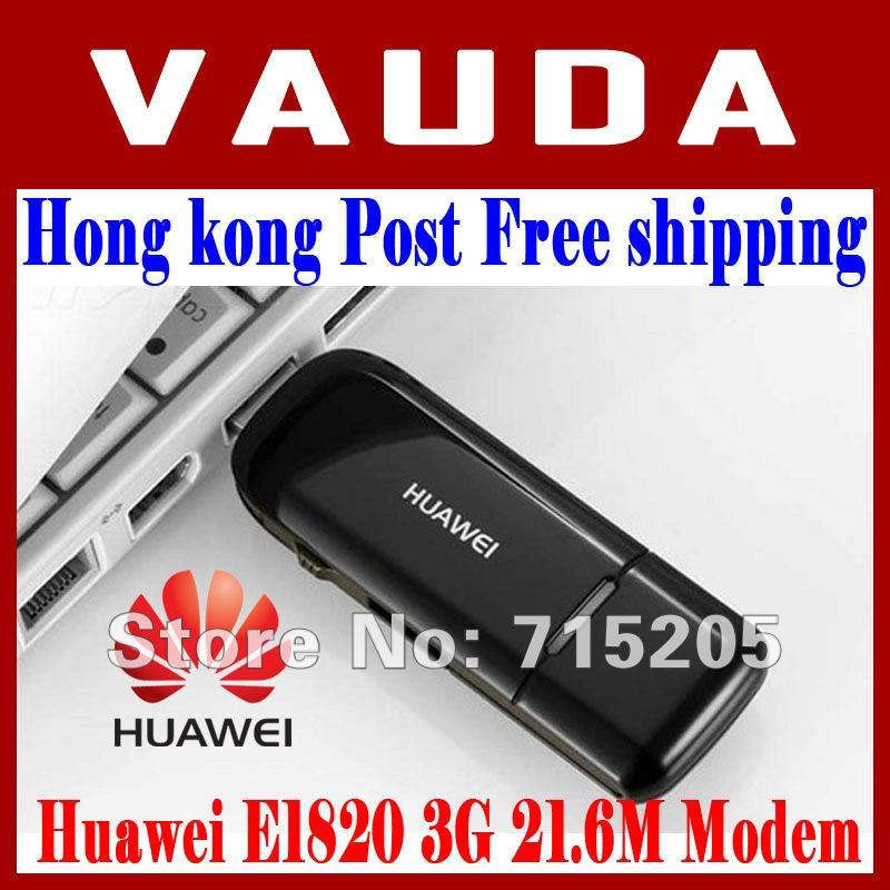 HK Post free shipping Huawei E1820 3G USB Wireless Modem 21.6M Support CE And External Antenna(China (Mainland))