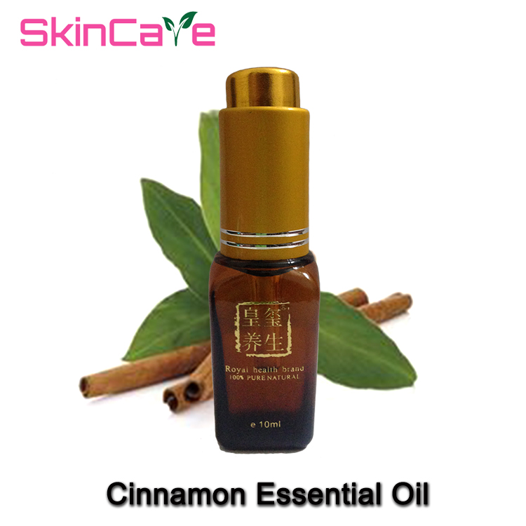 100% pure natural aromatherapy cinnamon oil essential oil Tighten the skin,Soothe the digestive tract Anti-aging Relax 10ml(China (Mainland))