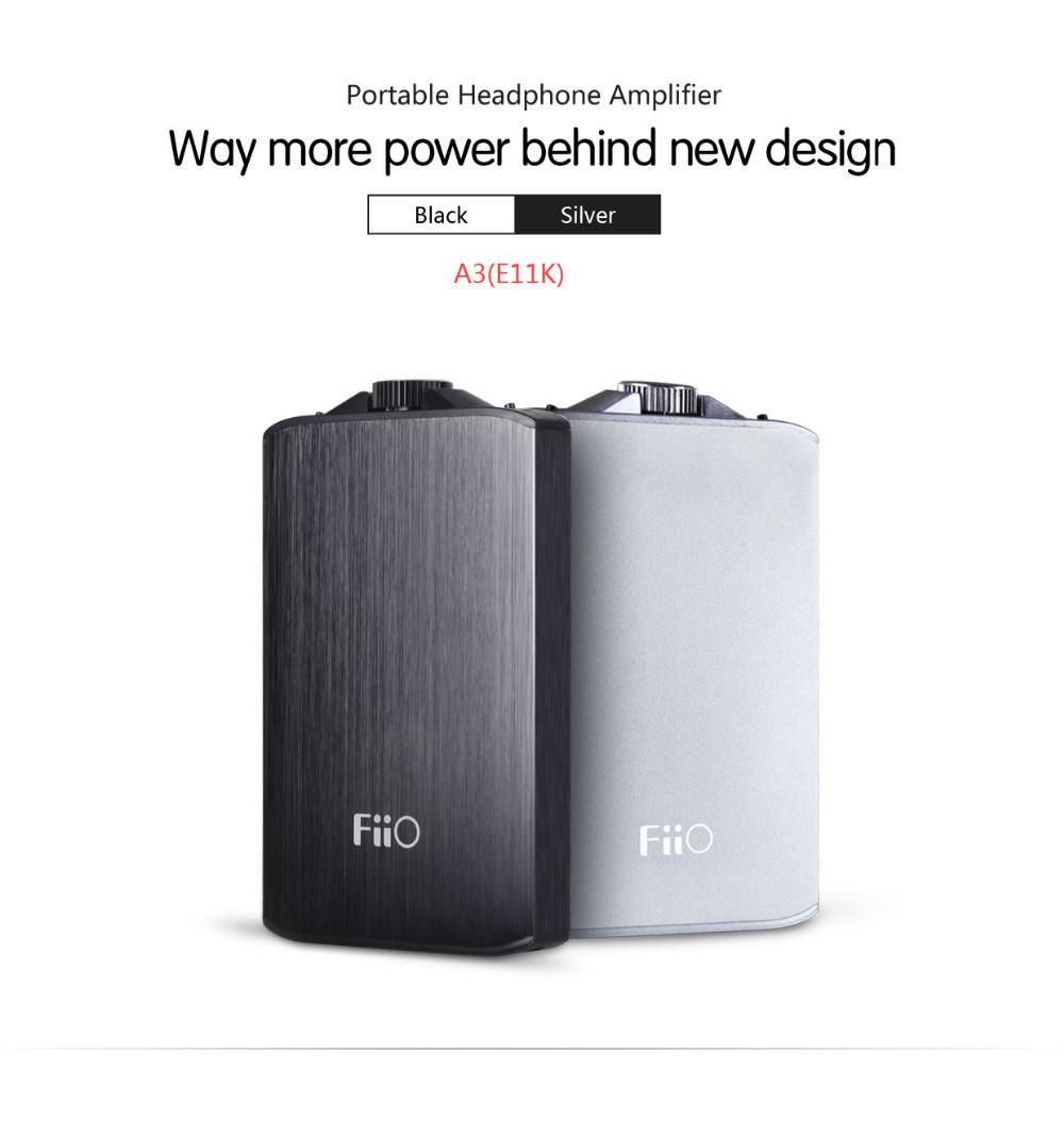 ถูก FiiO A3เครื่องขยายเสียงหูฟังแบบพกพา(Fiio E11/E11Kรุ่นอัพเกรด)