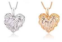 Fashion jewelry fatima hamsa necklace chain lucky charm free shipping
