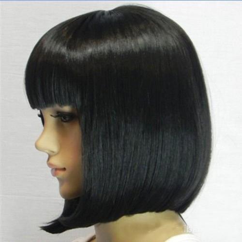 black short bob wigs
