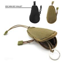 [ Mini ] bolsa camuflaje hombres mujeres diseño dinero coche Key carteras bolsa militar monedero bolso Pocket sostenedor cadenas Case(China (Mainland))
