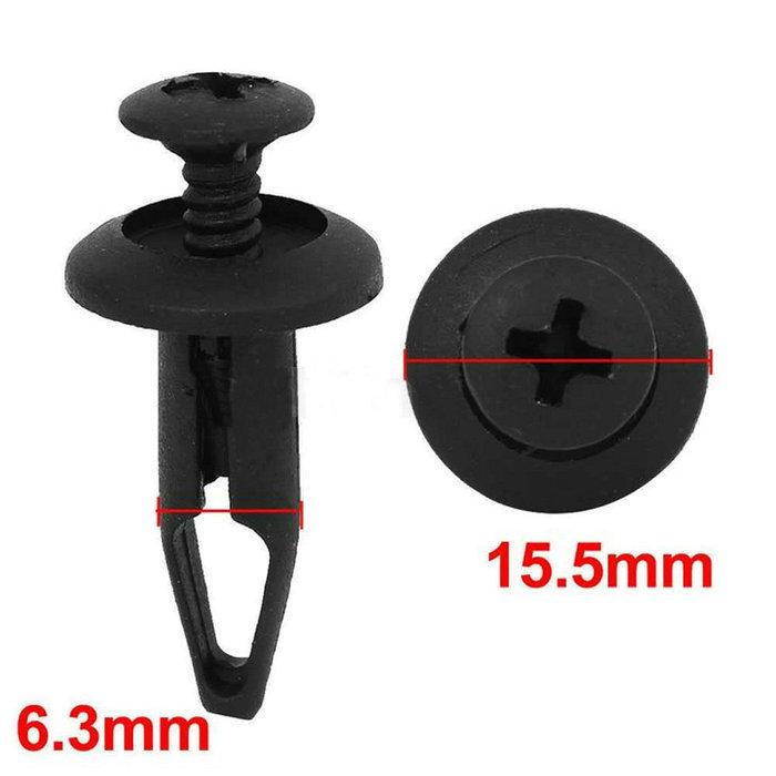 Цена от производителя 10 шт./лот пластиковые поворотные заклепки фиксатор крепленийсертификаты бампер Pin зажимы для форда