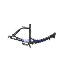 JS Black Foldable Mountain Bike Bicycle / Road Bike Bicycle Frame Can Be Customized(China (Mainland))