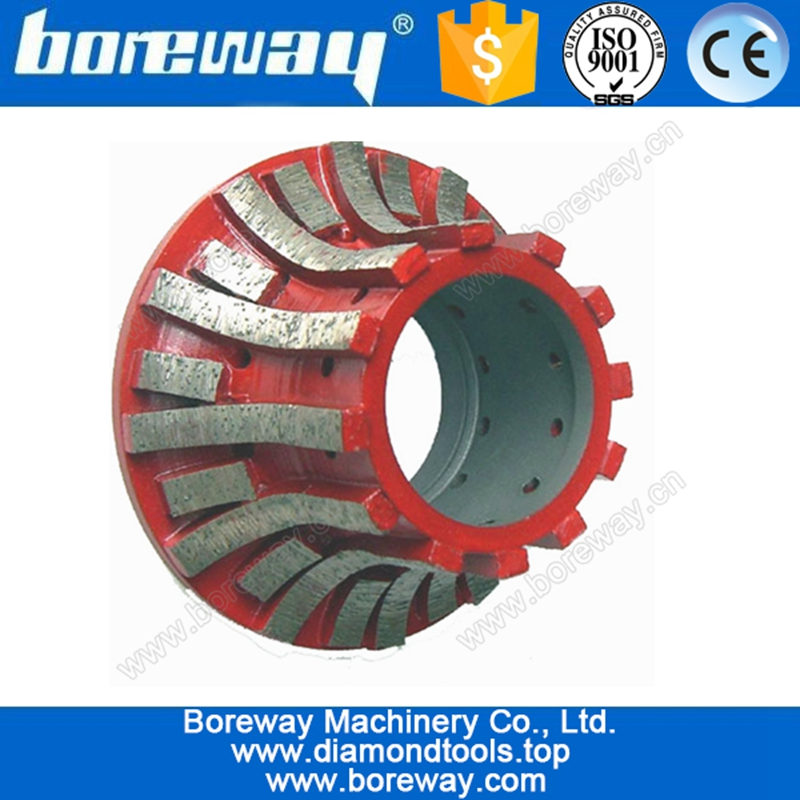 Hot sell  CNC segment concrete router bit A30 for grinding the stone counter marble