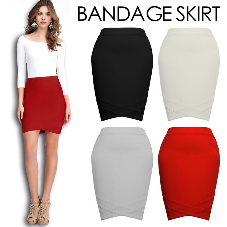Turmec » bodycon bandage skirt