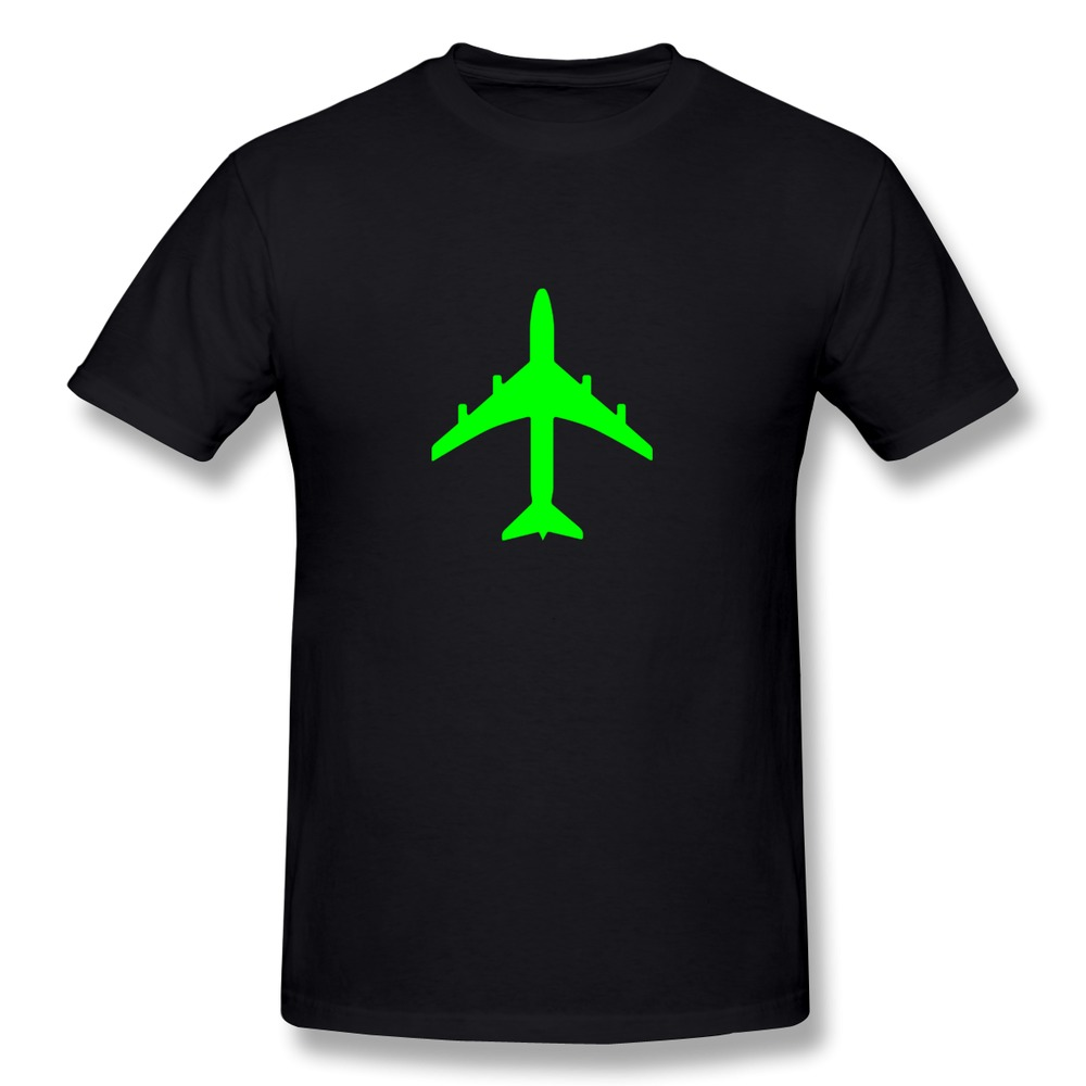 Classic Cotton Passenger jet plane like the 747 or airbus t shirt For men's 2015 Leisure man 3D t shirt for Cheap Sale(China (Mainland))