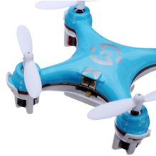 Cheerson CX-10 Mini 29mm 4CH 2.4GHz 6-Axis Gyro LED RC Quadcopter 4 color