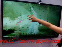 HOT! 42inch IR touch screen kit for LCD& Monitor, USB power, Open Frame with High durability for touch table, kiosk etc(China (Mainland))