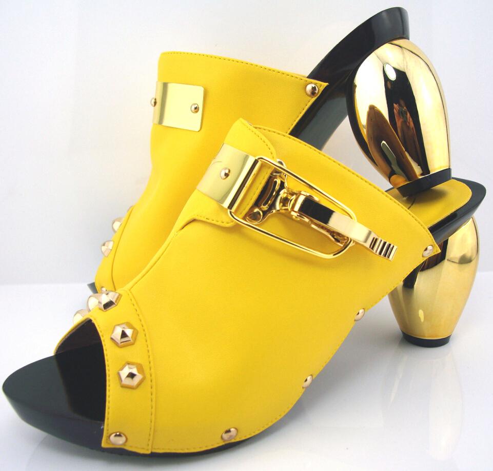 Yellow Bottom Heels