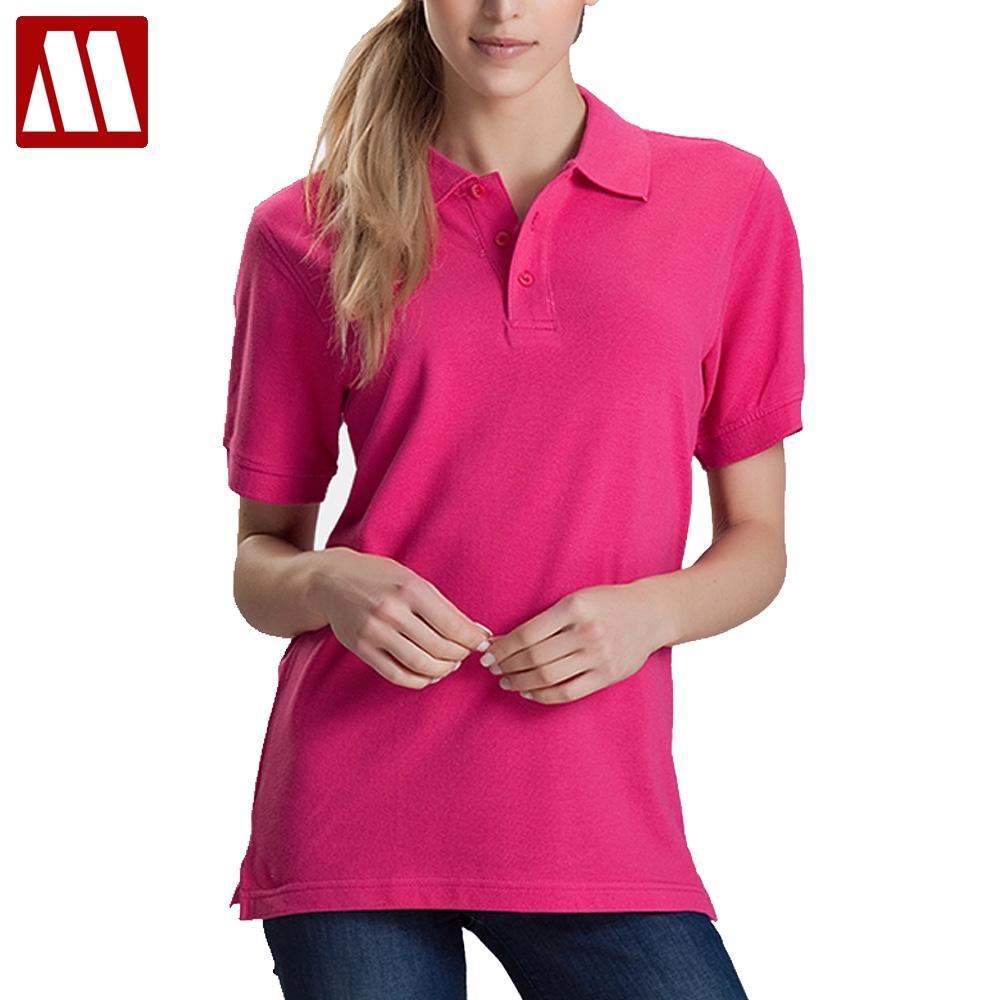 Coloring online no printing - Women Men Unisex Cotton Plain Solid Black Blue Navy Red Polo Shirt Ladies Short Sleeve No