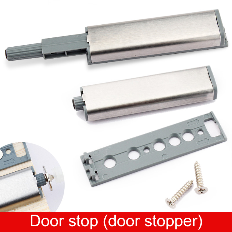 Push To Open System Kitchen Cabinet Drawer Buffer Door Stop Soft Quiet Closer Damper Buffers Door Stopper Flush Catchers(China (Mainland))