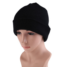BS#S Men Women Beanie Knit Ski Cap Hip-Hop Color Winter Warm Unisex Wool Hat EMS DHL Free Shipping Mail