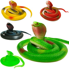 Halloween Tricky whole person Funny Toys soft toys simulation Cobra()
