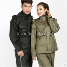 Fashion Burberry Qualiy Woman Man Hooded Raincoat Pants Set Bicycle Motorcycle Winter Rainwear Outdoor Camping Waterproof Suits