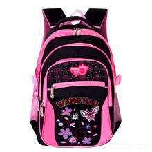 Fashion Grade1-6 Orthopedic Breathable Butterfly Primary School Bags Kids Backpack Teenagers Boys Cute Girls Mochila Schoolbags