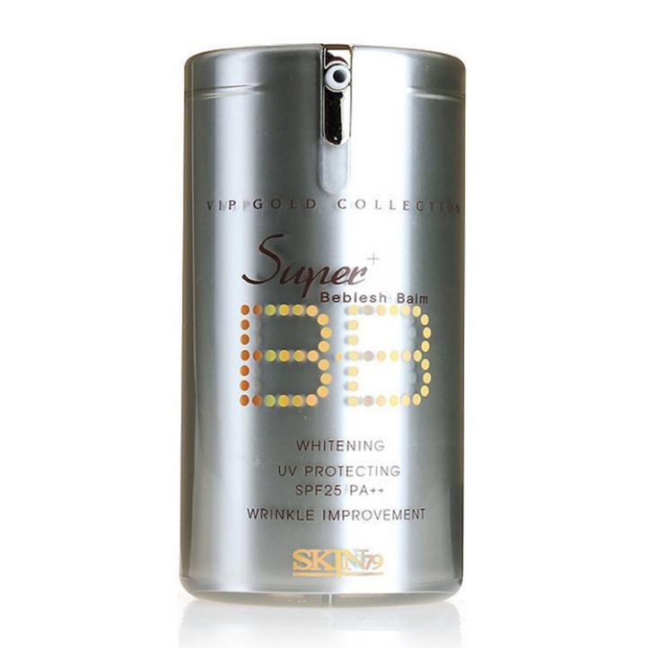 Korea Missha SKIN79 Super Plus Beblesh Balm Liquid Concealer Whitening Sunscreen BB Cream Faced Foundation Makeup SPF25 PA++(China (Mainland))
