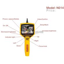 N014 50x Zoom Supereyes impermeable ranura SD 3.5 » pantalla Manual Focus Digital Video del animascopio con luz LED