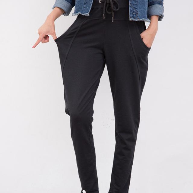 Бесплатная доставка брюки активные женщины черный Большой размер 6XL 5XL 4XL 2015 ...