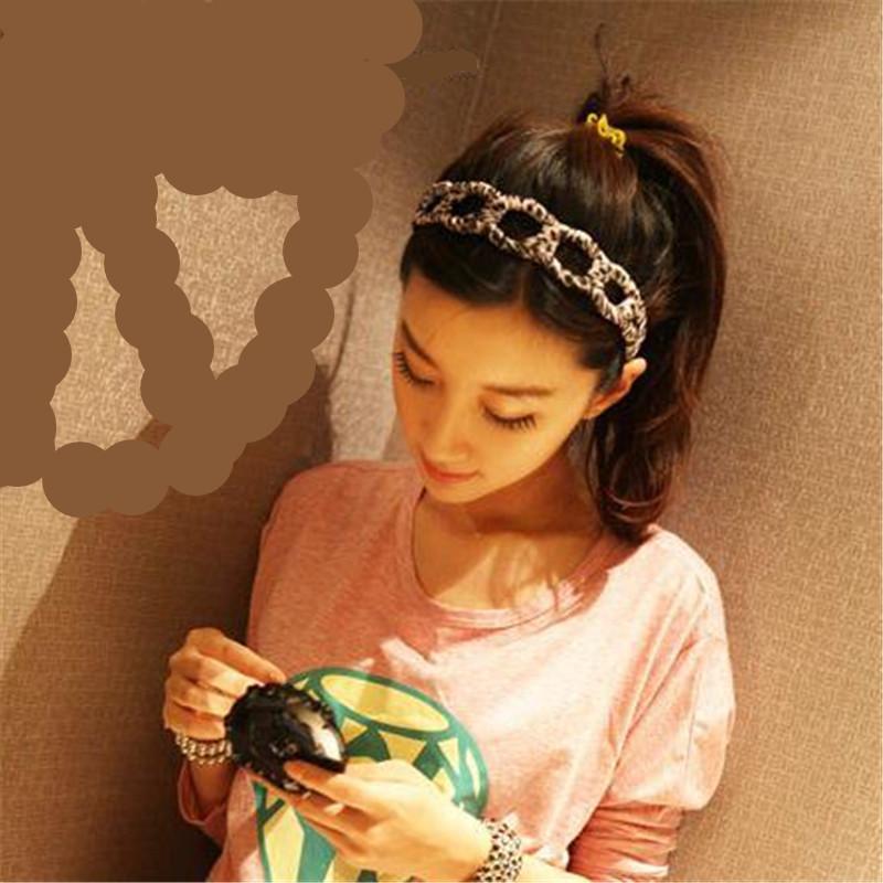 Summer Style Women Girl's New Fashion Turban Twist Headband Head Wrap Knotted Soft Hair Band Hair Accessories CX678866(China (Mainland))