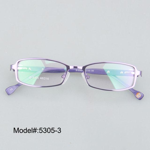 5305 Free shipping  kid's eyeglasses optical frames  with spring hinge   myopia eyewear prescription spectacles