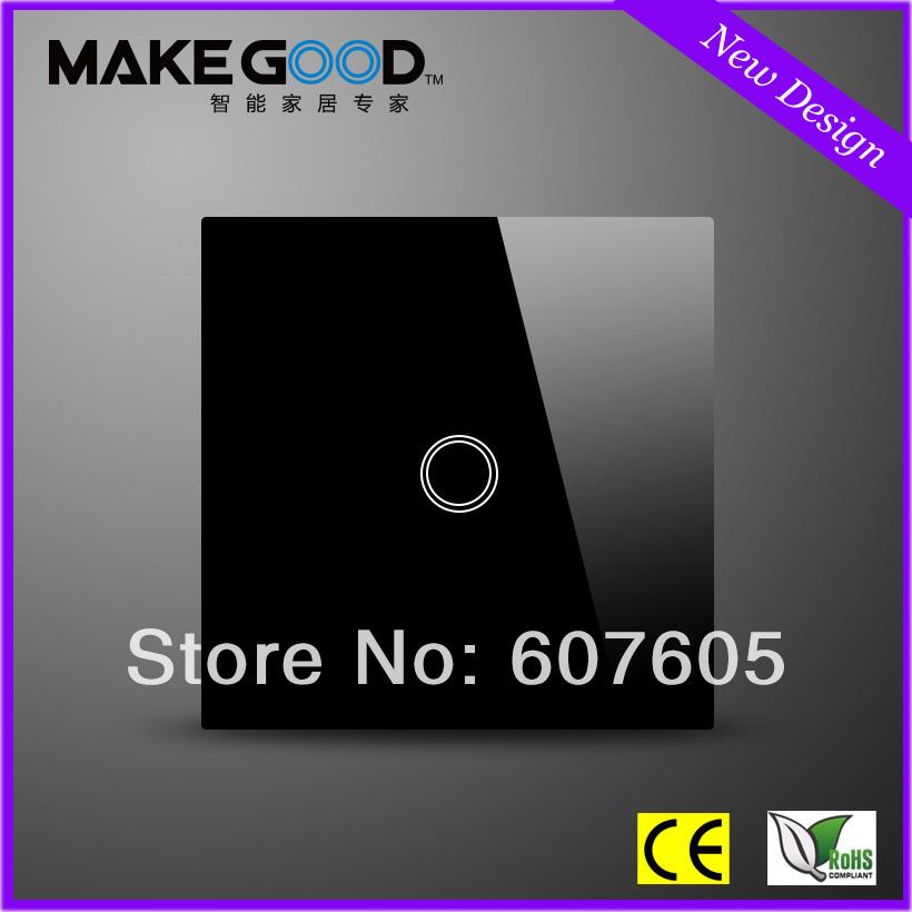 Настенный переключатель MakeGood 1 1 + MG-UK01B настенный переключатель makegood led mg us rc12