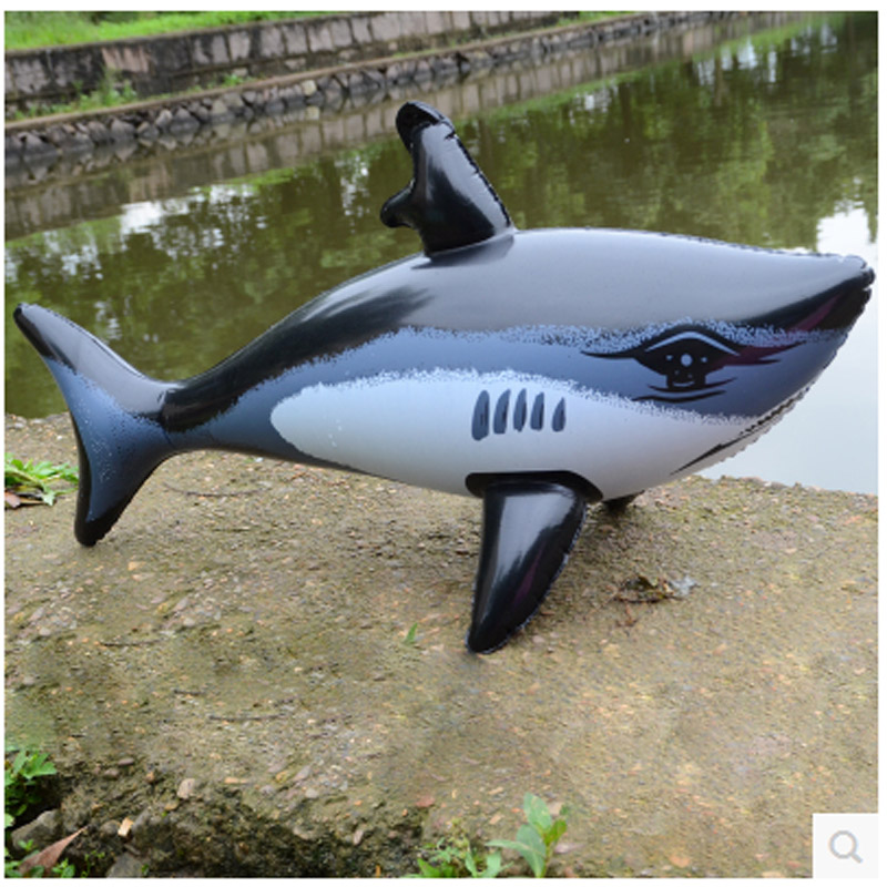 free shipping 5pcs Inflatable Animal new Large Shark Inflatable fish Kid Water Toy Inflatable Balloon Party Decoration(China (Mainland))
