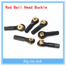 Transfer with wave beads)simulation car / model buckle marine ball / rod head steering rod ball head buckle for different size(China (Mainland))