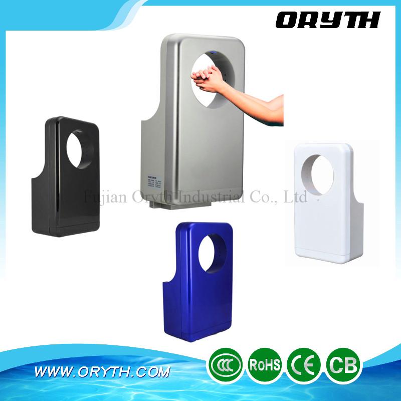 Three sided Circular Perfume High Speed Jet Hand Dryer with HEPA Fiter(China (Mainland))