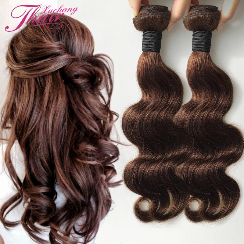 Cheveux bruns avec morceau blond
