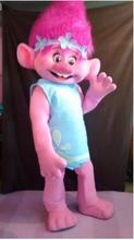 Branch From Dreamworks TROLLS Movie Mascot Costume Fancy Dress BRAND NEW(China)
