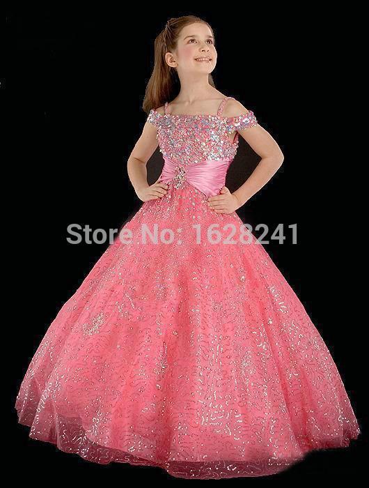 Flower Girl Dresses Belle Of The Ball Buy 59